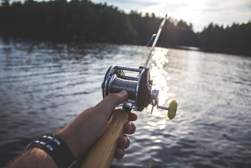 En fiskesport som kräver sin utrustning